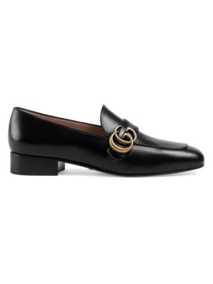 Gucci Loafers Double G Leather Loafers