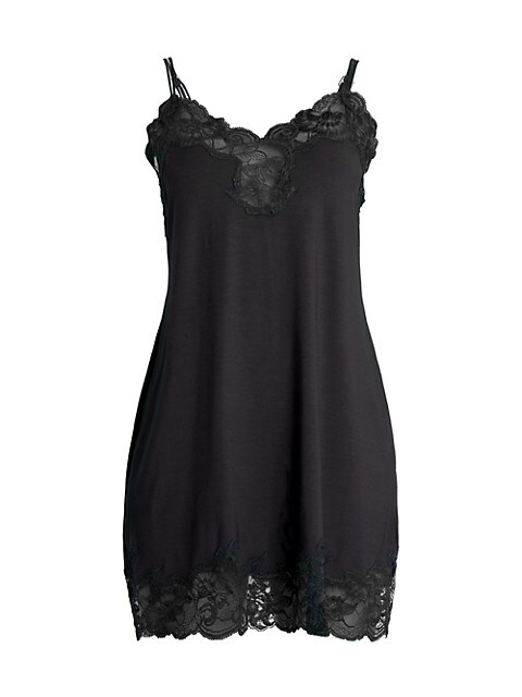 Beatrice Lace Jersey Chemise
