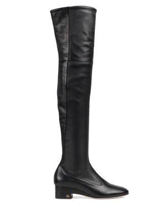 Gucci Boots Claus Tall Leather Boots
