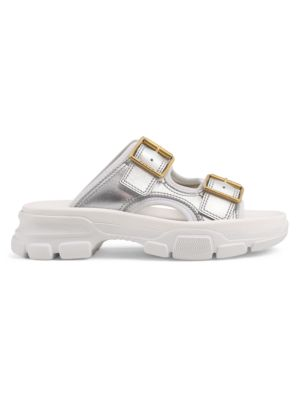 Gucci Slippers Women's Leather Slides