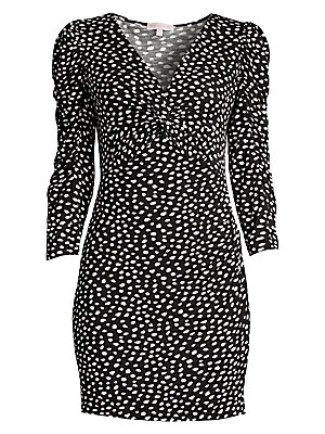 Dotted Jersey Dress by Rebecca Taylor