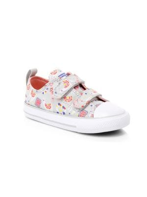 Baby's & Little Girl's Chuck Taylor All Star Llama 2V Low Top Sneakers