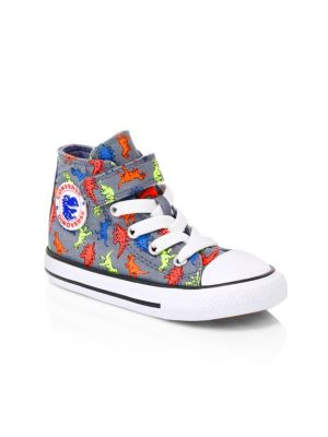 Baby's & Little Boy's All Star Dionsaur High Top Chuck Taylor Sneakers