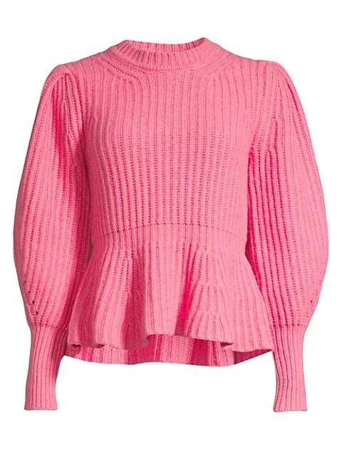Love Peplum Sweater
