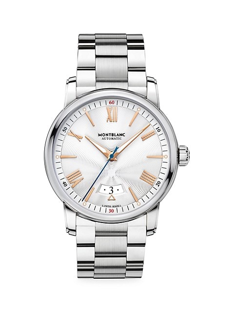 4810 Stainless Steel Bracelet Automatic Date Watch
