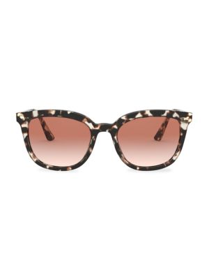 Prada Women's Heritage 53mm Square Sunglasses In Ivory