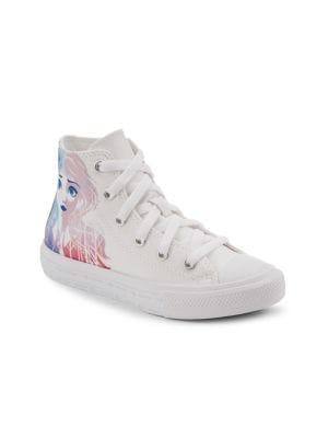 Disney's Frozen 2 x Converse Girl's Elsa & Anna High Top Sneakers