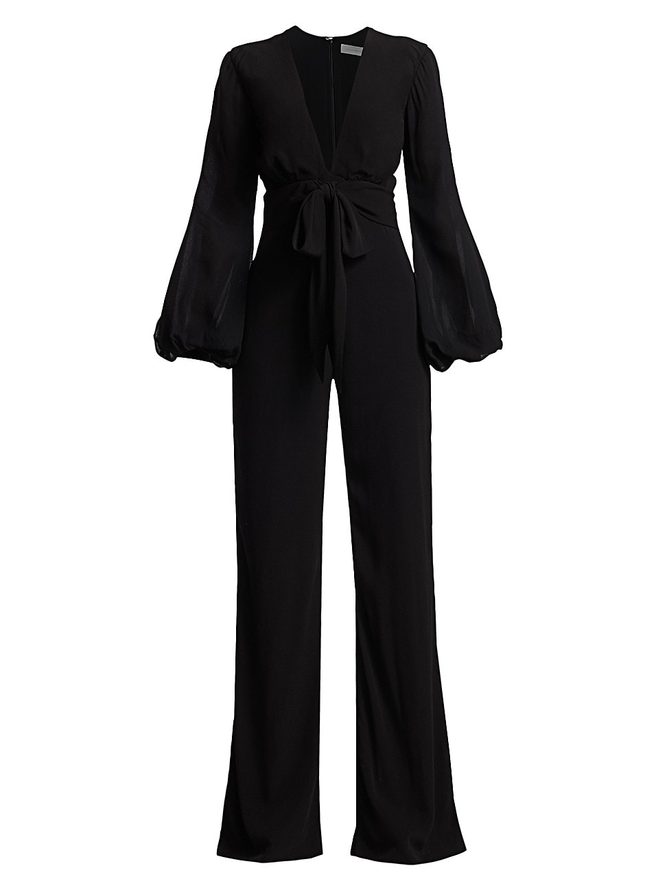 Silvia Tcherassi WOMEN'S FAITH BELTED PUFF-SLEEVE JUMPSUIT