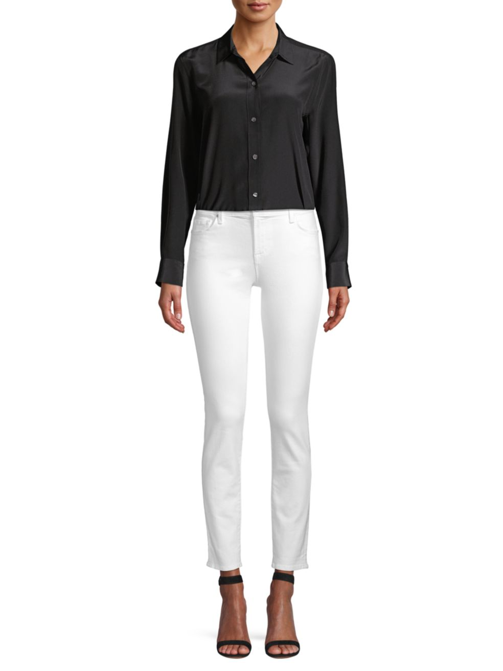 Equipment Leema Silk Shirt | SaksFifthAvenue
