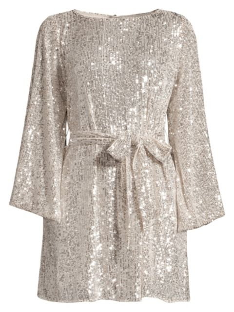 Jay Godfrey Maggie Sequin Mesh Dress   SaksFifthAvenue