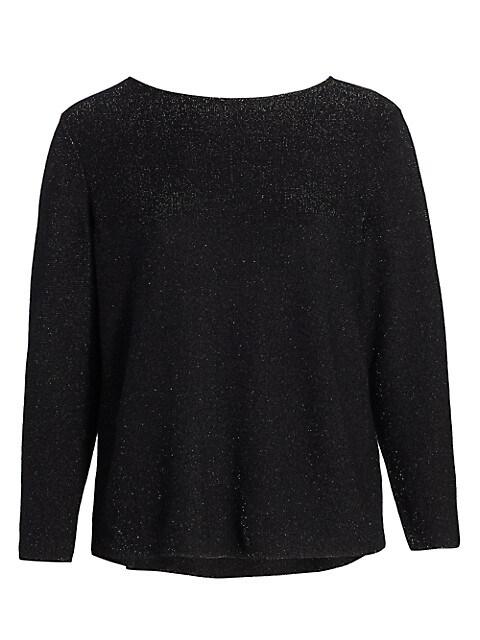 Glitter Cashmere Sweater