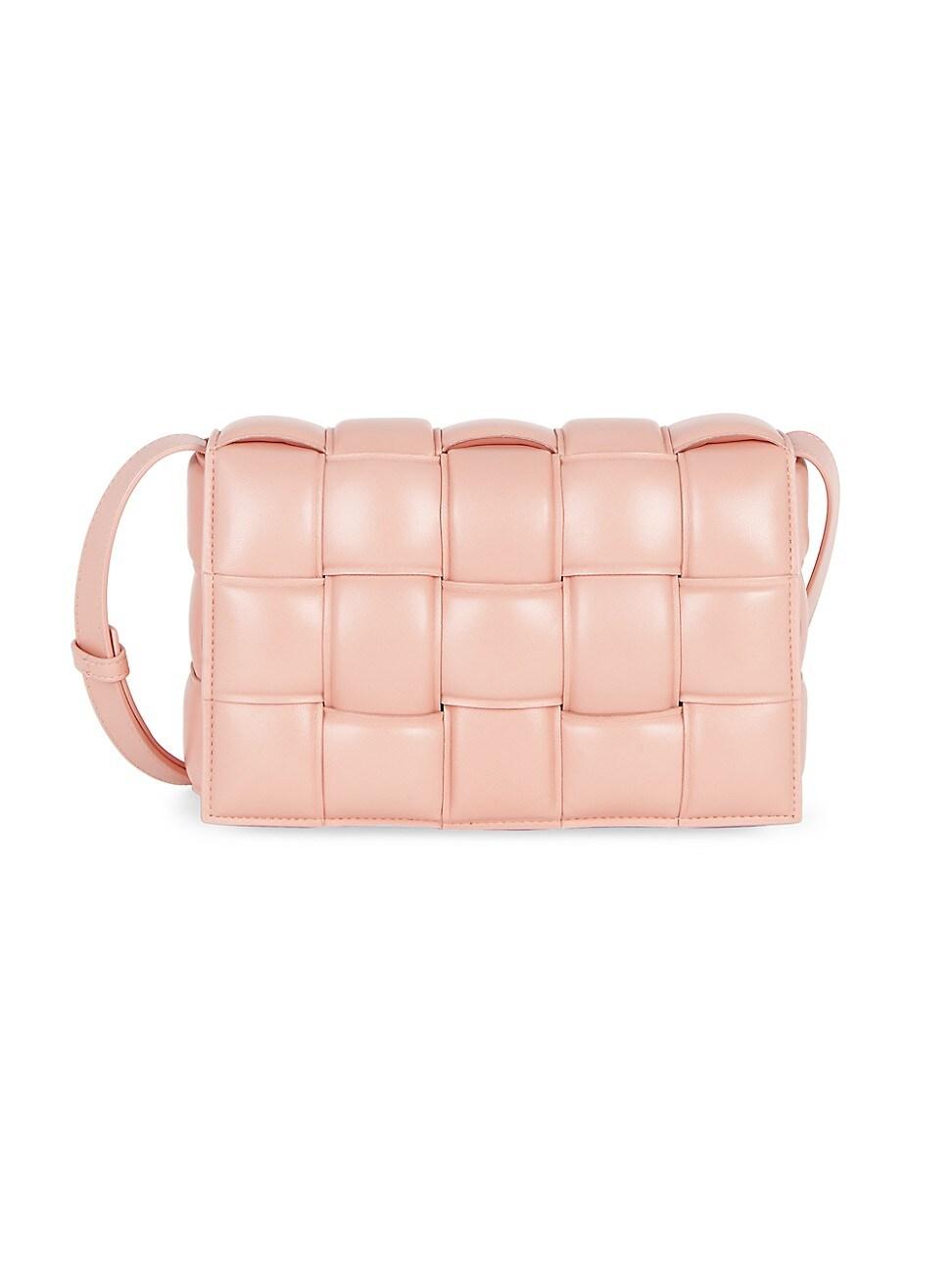 Bottega Veneta Bags WOMEN'S THE CASSETTE PADDED LEATHER CROSSBODY BAG