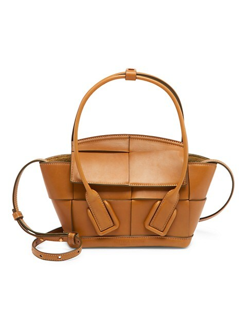 Small Arco Leather Satchel