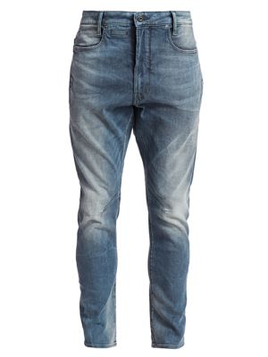 G Star RAW Coder Straight Jeans in Blue for Men Lyst
