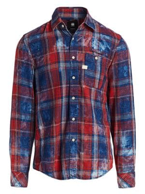 Faded Flannel Check Shirt