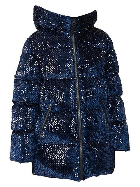 Emerie Hooded Down Puff Jacket