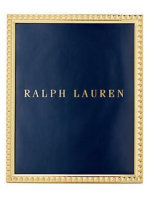 $195 Ralph Lauren Cove 18k Gold Plated Picture Frame Home Decor Frames 8 x 10 Huis Binnenhuisinrichting