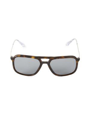 Prada Sunglasses 54MM Aviator Sunglasses