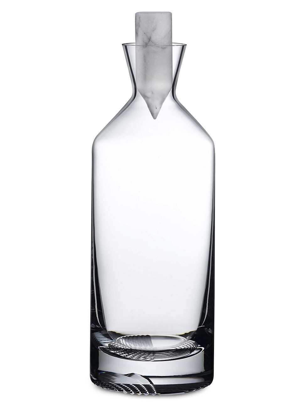 Nude Glass Alba Tall Whiskey Decanter In Clear