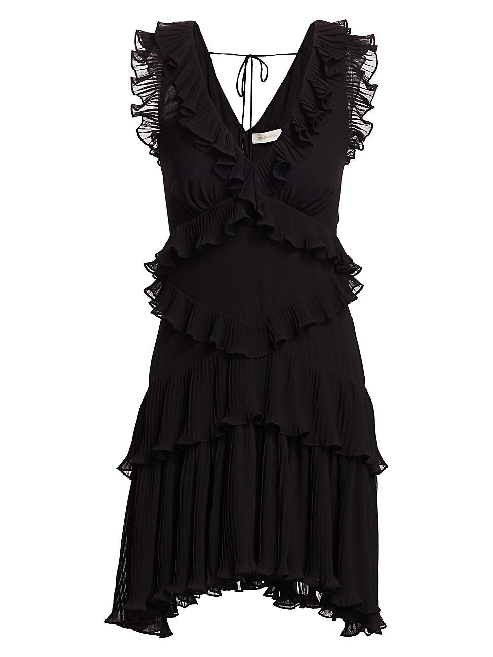 ZIMMERMANN WOMEN'S SUPER 8 FRILL MINI DRESS