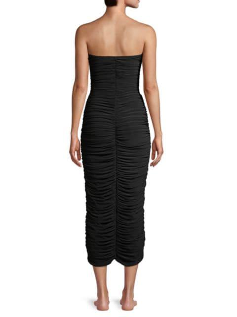 Norma Kamali Slinky Sweetheart Bodycon Dress   SaksFifthAvenue