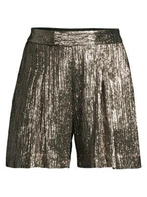 NWT-Jr Girls Women SO Yellow Striped Tab Summer Cotton Shorts- 1 7 3 11 9 5