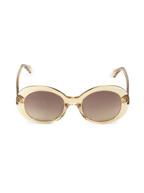 Mathilde 51MM Oval Sunglasses
