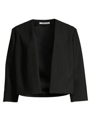 Boss Jackets Jikiva Cropped Ponte Jacket