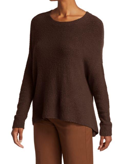 Alice + Olivia Roma Boucle Sweater | SaksFifthAvenue