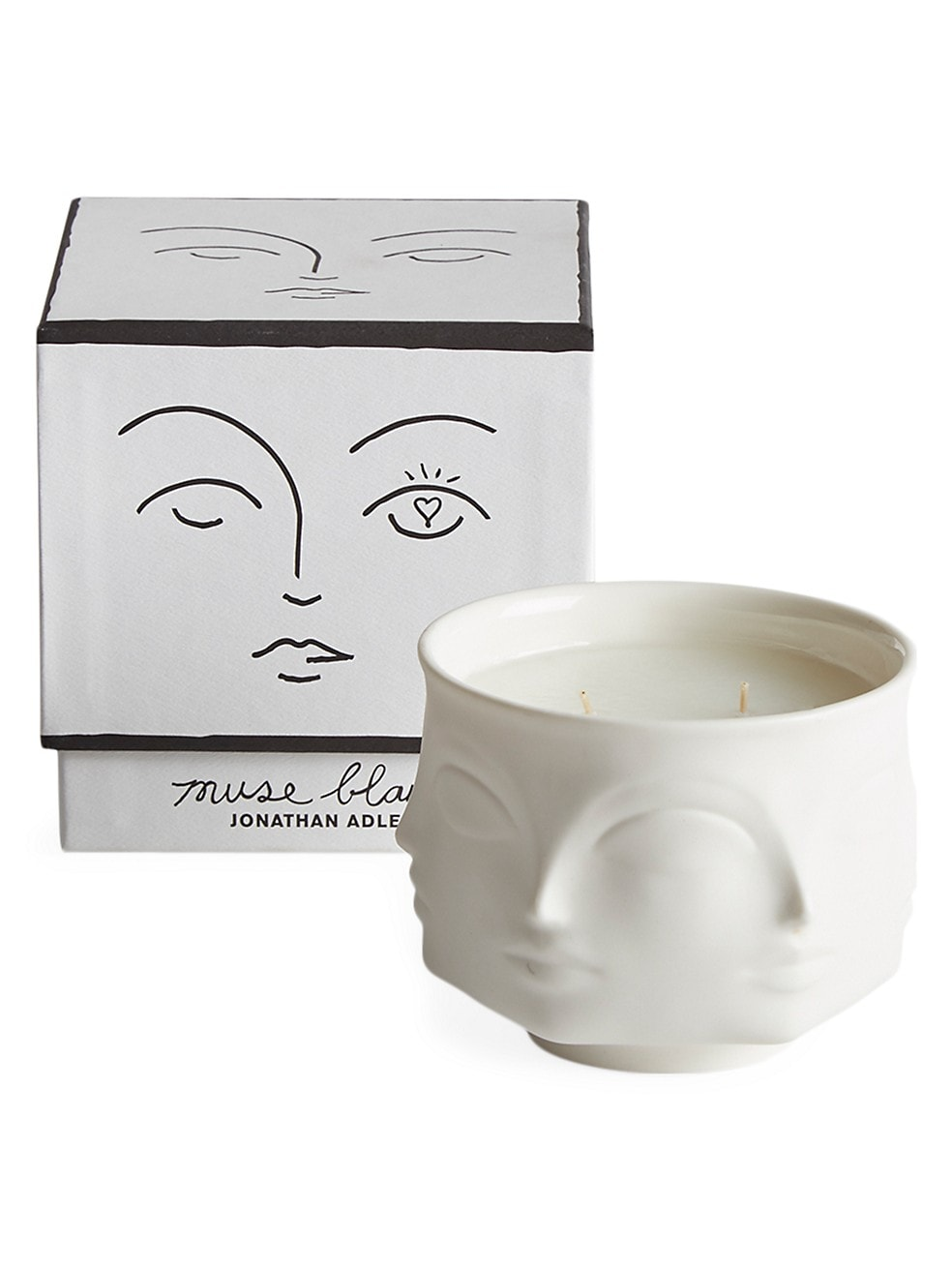Jonathan Adler Muse Blanc Scented Candle