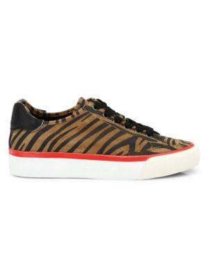 RB Army Low Top Zebra Stripe Leather Sneakers