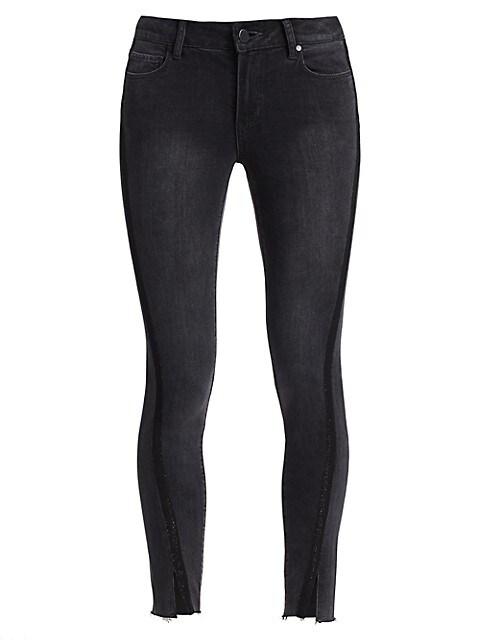 Verdugo Split-Cuff Ankle Skinny Jeans