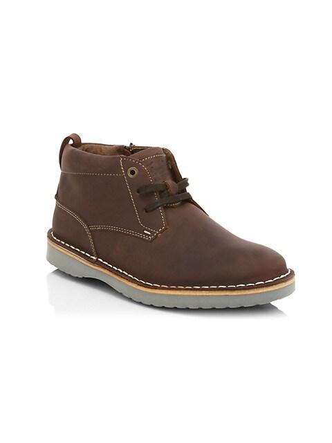 Little Kid's & Kid's Navigator Jr. Leather Chukka Boots
