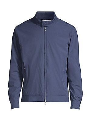 Peter Millar Crown Soft Regular Fit Bomber Jacket