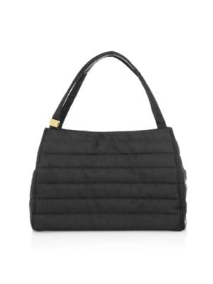Eric Javits Women's Rush Loden Quilted Satchel In Black