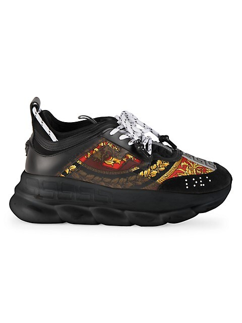 Chain Reaction Heritage Baroque-Print Sneakers