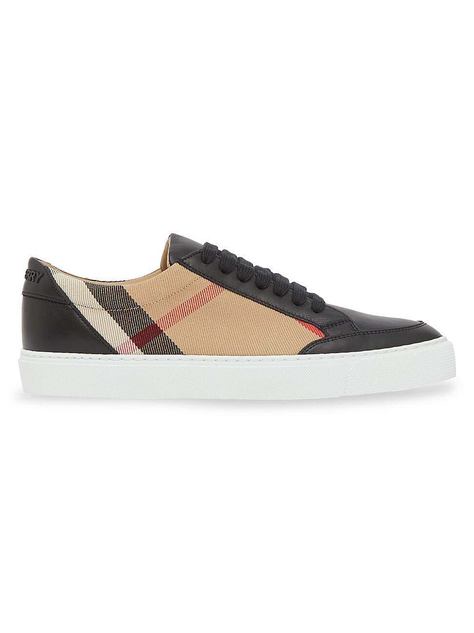 Burberry WOMEN'S NEW SALMOND VINTAGE CHECK SNEAKERS