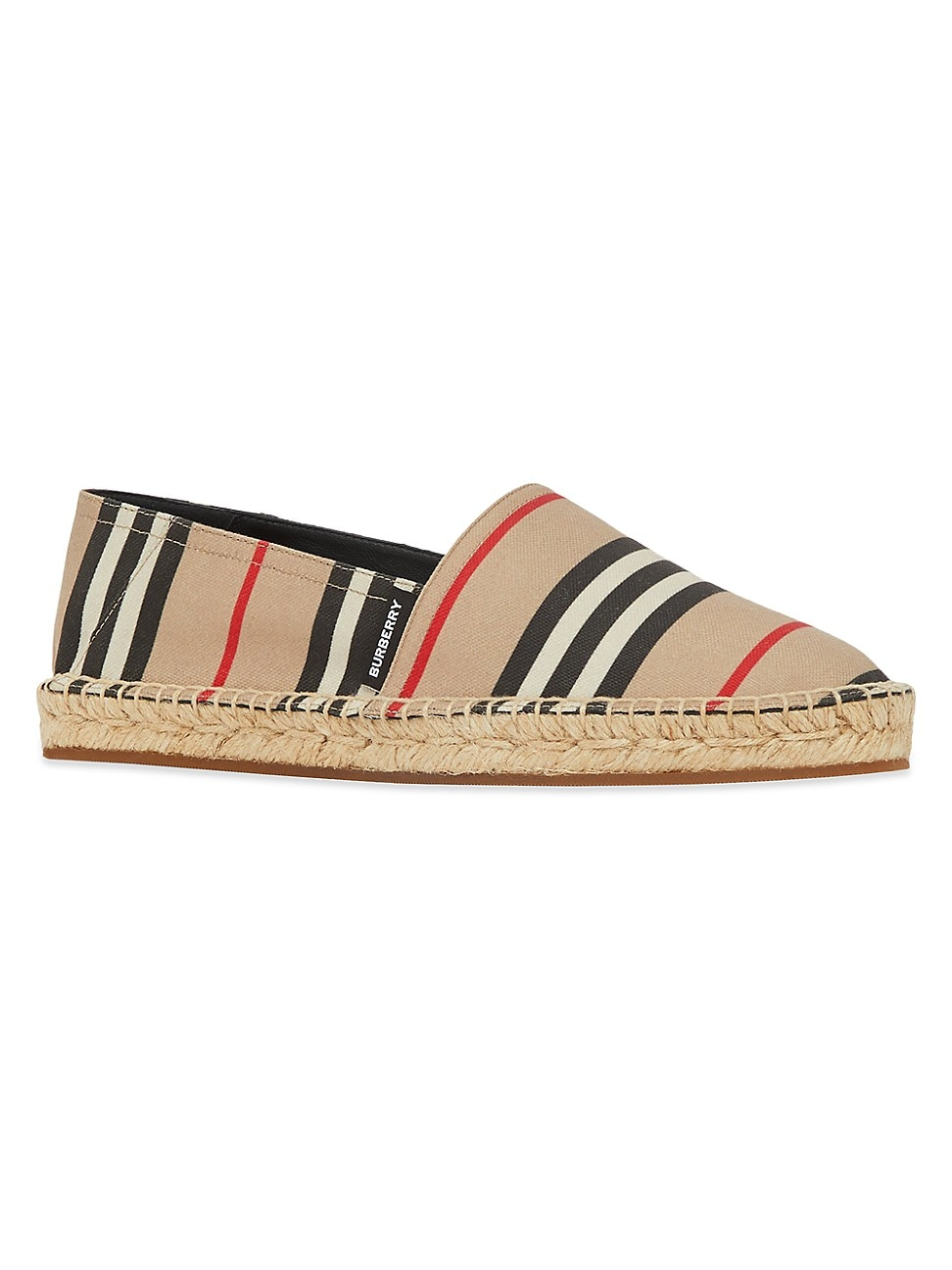 Burberry WOMEN'S ICON STRIPE ESPADRILLES