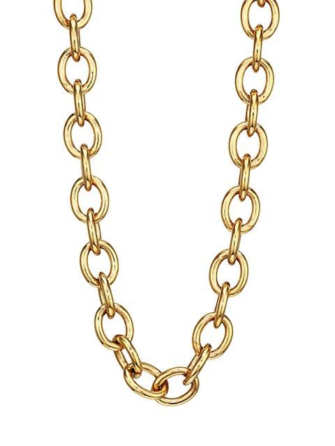 14K Goldplated Sterling Silver Base Necklace