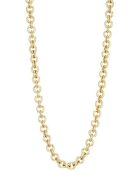 14K Goldplated Sterling Silver Chain Necklace