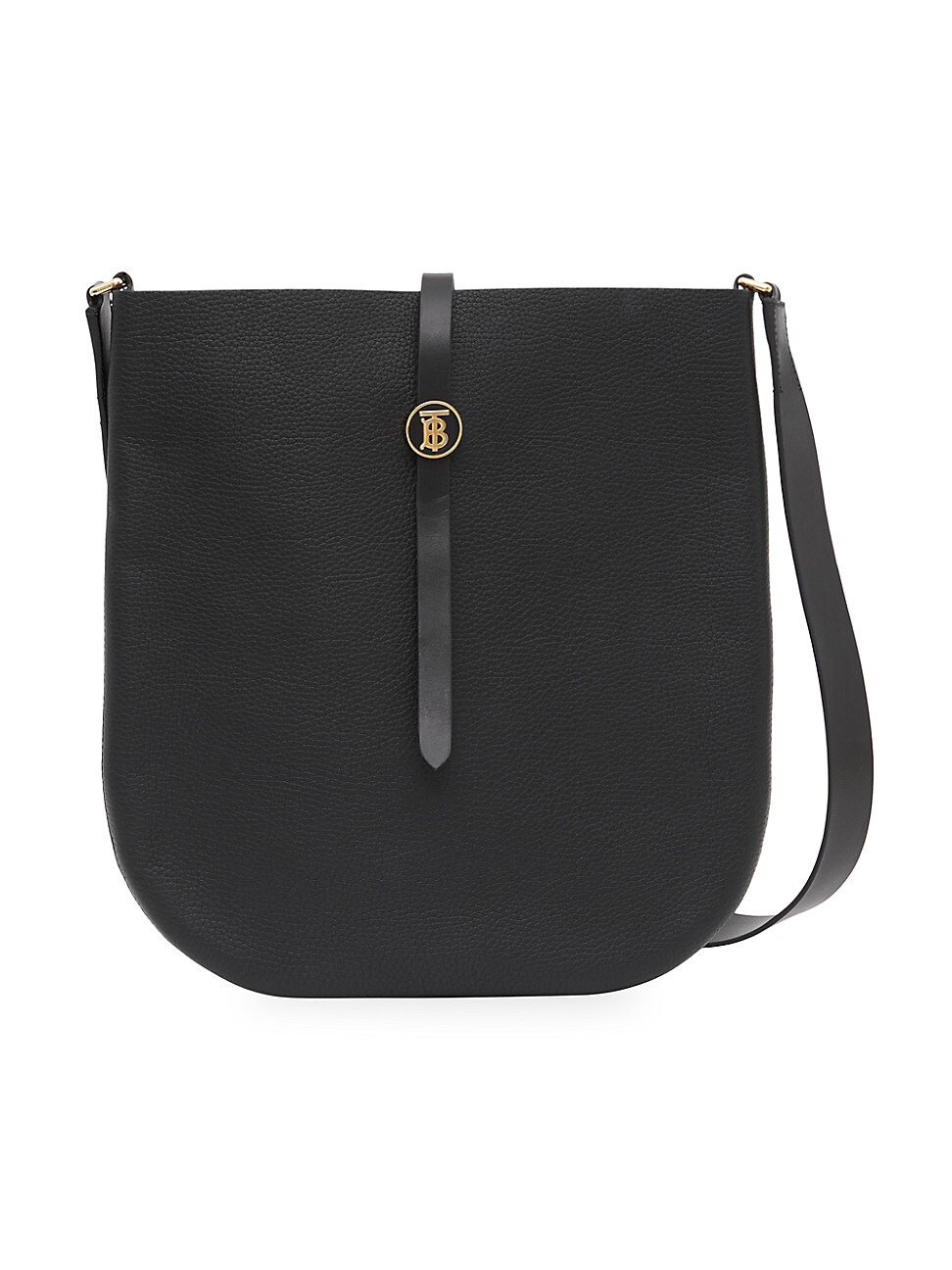 Burberry WOMEN'S ANNE LEATHER SADDLE BAG