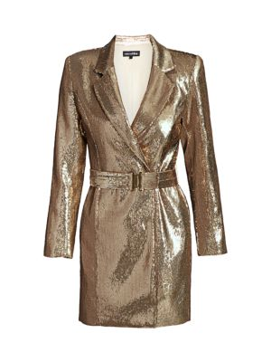 Retroféte Joan Sequin Blazer Dress