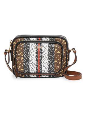 Burberry Small Monogram Stripe Camera Bag Saks Com