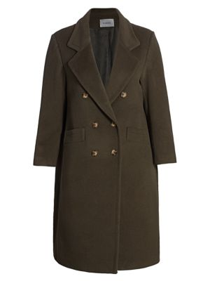 Baacal, Plus Size Davis Double-Breasted Car Coat