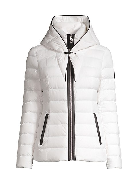 Andrea Hooded Down Puffer Coat