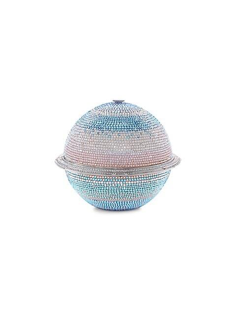 Saturn Sphere Crystal Clutch