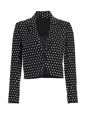 uk store really comfortable crazy price Michelle Mason - Crystal Studded Jacket