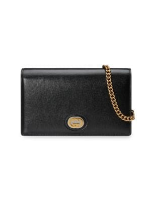 Gucci Wallets Marina Leather Wallet-On-Chain