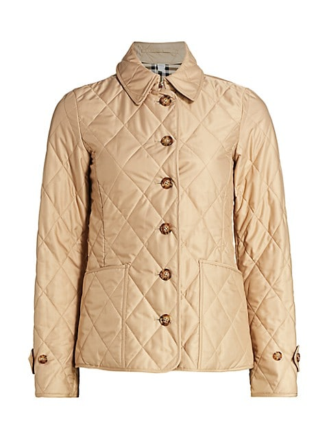 Fernleigh Quilted Coat