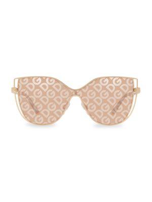 Dolce & Gabbana Women's 29mm Cat Eye Sunglasses In Brown